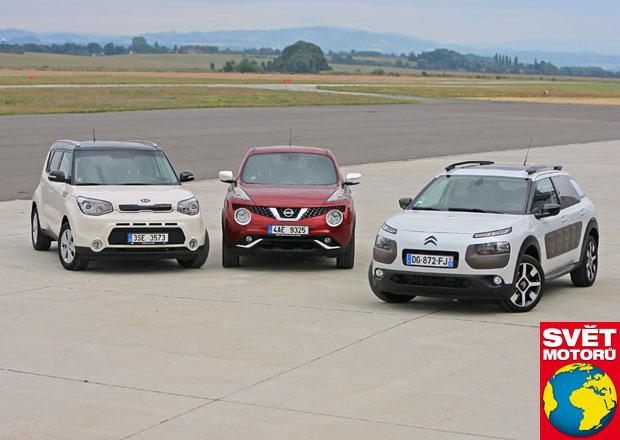 Citroën C4 Cactus 1.2 vs. Kia Soul 1.6 GDI vs. Nissan Juke 1.2 DIG-T