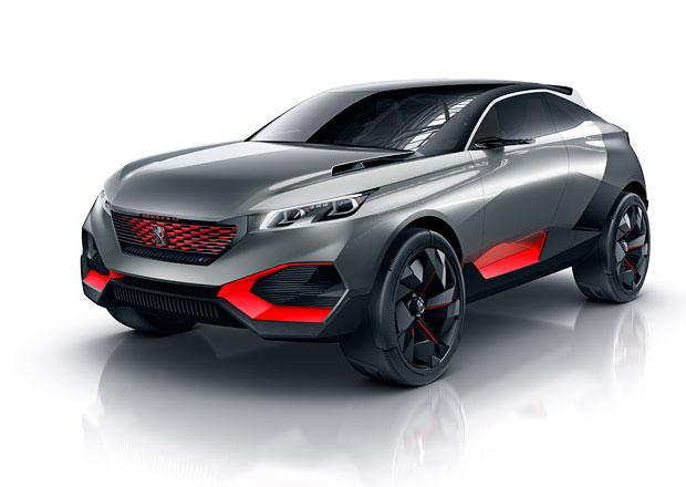 Peugeot Quartz: Ukázka SUV pro Paříž