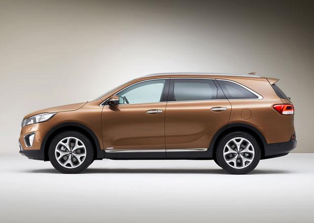 Kia v Pa��i: Sorento, Optima T-Hybrid a facelifty Vengy a Ria