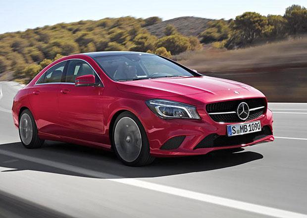 Mercedes-Benz CLA 2015: Se silnějším dieselem a lepší výbavou