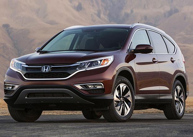 Honda CR-V: Modernizované SUV na první fotografii