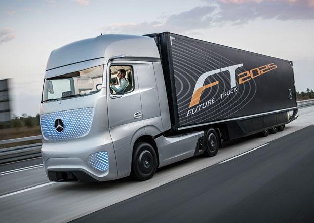 Mercedes-Benz Future Truck 2025 se představuje (3x video)