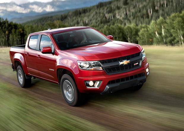 Chevrolet Colorado a GMC Canyon pro rok 2015 i se čtyřválcem