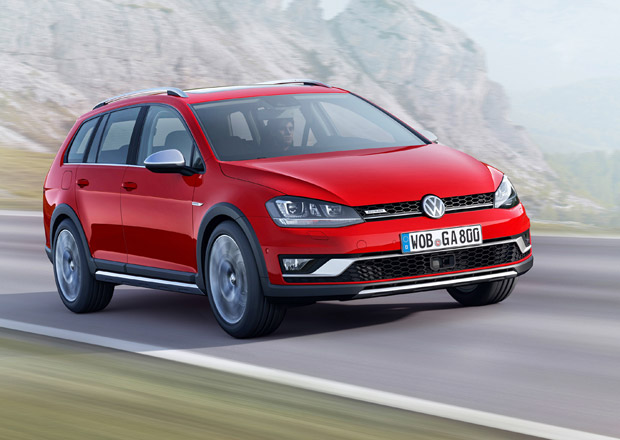 Volkswagen Golf Alltrack: Někdy i 2 cm pomohou