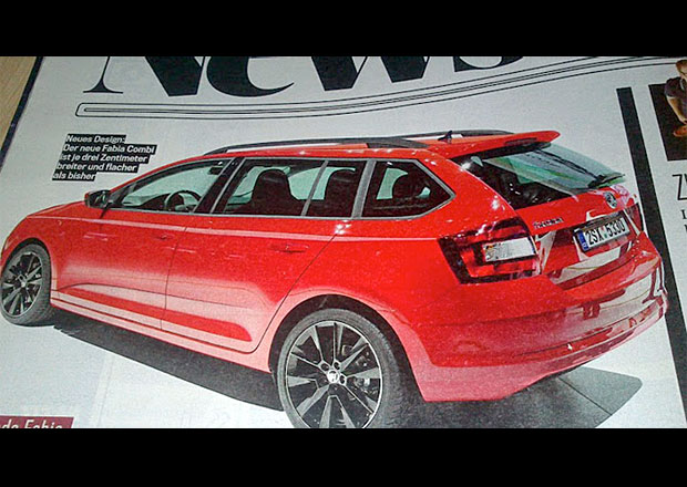 Potvrzeno: Škoda Auto přiveze do Paříže i tři Fabie Combi