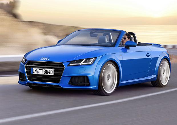 Audi TT Roadster je tady, naživo se představí v Paříži