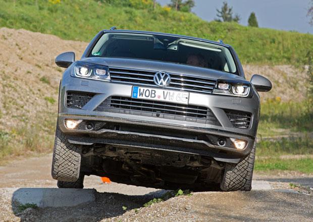 Volkswagen Touareg: První jízdní dojmy
