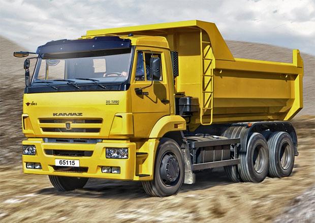Ruský výrobce nákladních aut Kamaz omezí na konci září výrobu