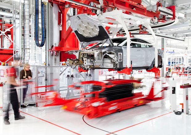 Tesla Motors pl�nuje v�robu elektromobil� v ��n�