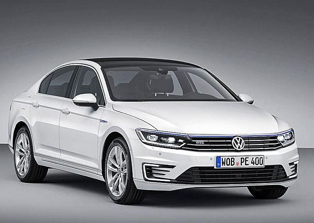 Volkswagen Passat GTE: Benzinoelektrický vítr