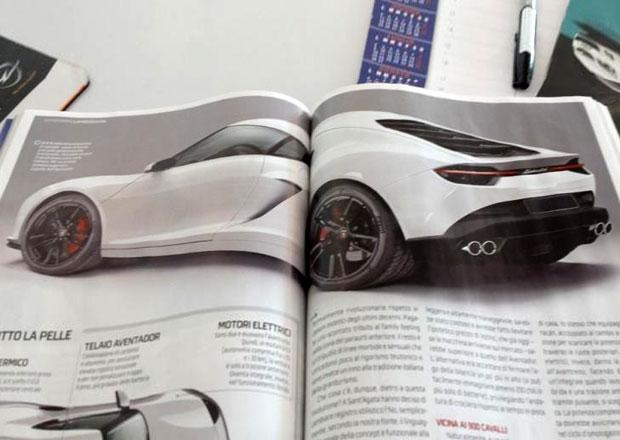 Lamborghini Asterion na fotografi�ch: Je to on?