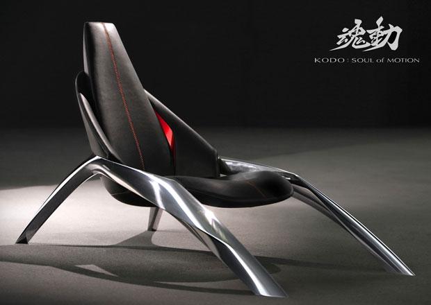 Mazda chce vyrábět nábytek. Co říkáte na stylovou židli?