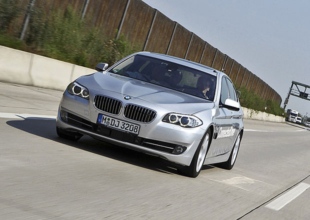 BMW bude testovat autonomní řízení aut v Číně