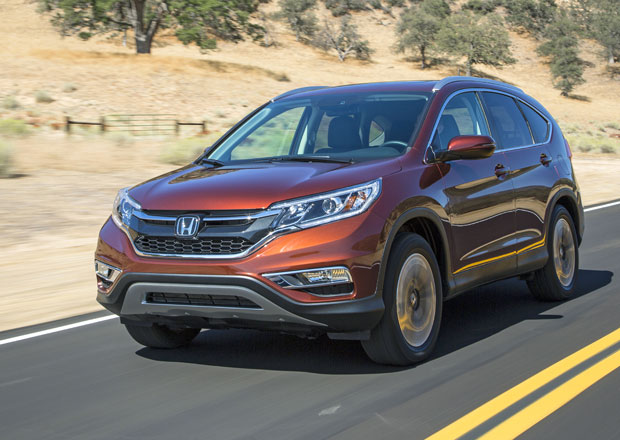 Honda CR-V: 160k turbodiesel Earth Dreams a devítistupňový automat