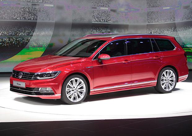 Volkswagen v Paříži: Ve znamení Passatu B8 (+rozhovor)