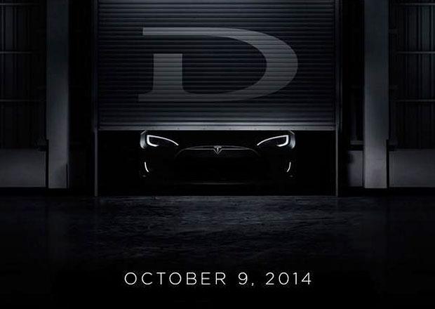 Tesla Model D na prvn� upout�vce, cel� auto uvid�me 9. ��jna