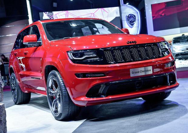 Jeep Grand Cherokee SRT Red Vapor: Rudou parou vpřed!
