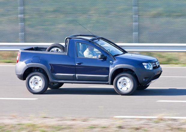 Dacia Duster pick-up je realitou