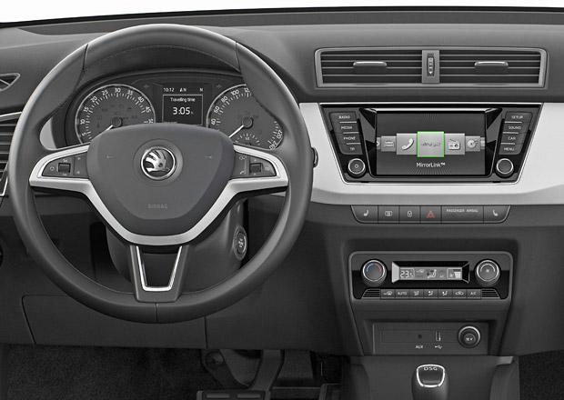 Škoda rozšiřuje výbavu: MirrorLink pro Yeti, SmartGate pro Rapid a Octavii