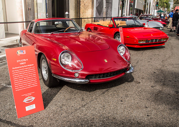 Oslavy 60 let Ferrari na americkém trhu (fotogalerie)