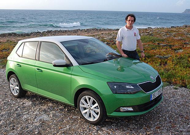 Škoda Fabia III: První dojmy se sériovými automobily vPortugalsku