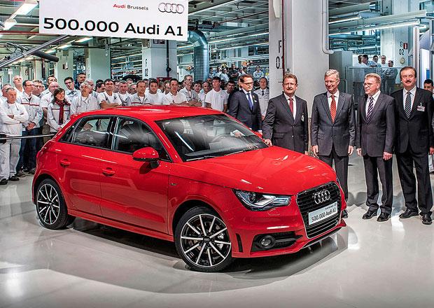 Audi A1: Z Bruselu už vyjelo na 500.000 kusů malého premianta