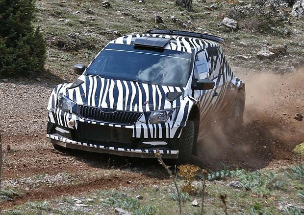 Škoda Fabia R5: Nástupce Fabie S2000 se pilně testuje
