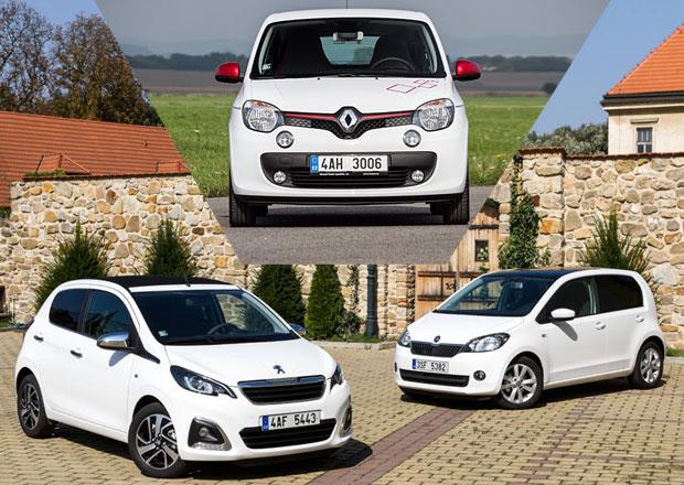 Peugeot 108 vs. Renault Twingo vs. �koda Citigo: Co koupit?