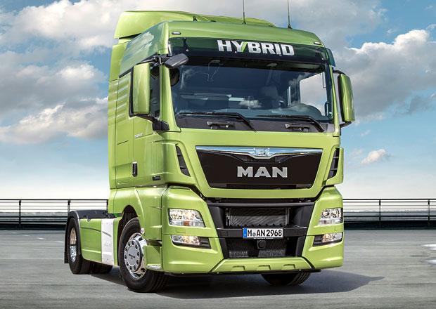 MAN TGX Hybrid zatím jako koncept