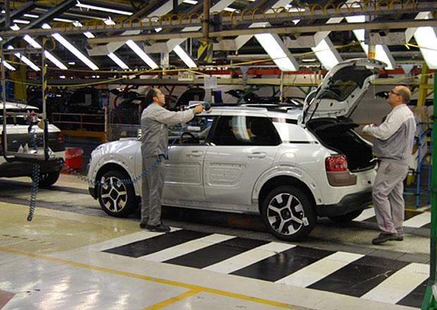 Citroën chce navýšit výrobu C4 Cactus