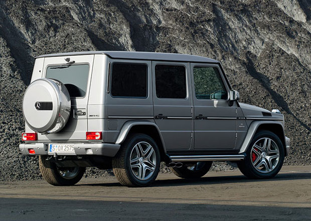 Mercedes-Benz G: Vylepšení za tři roky, ale udrží si hranatý vzhled