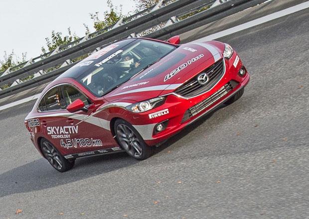 Dieselov� Mazda 6 poko�ila 20 rekord� FIA
