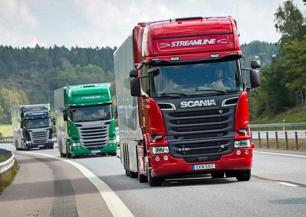 Scania zvyšuje provozní zisk