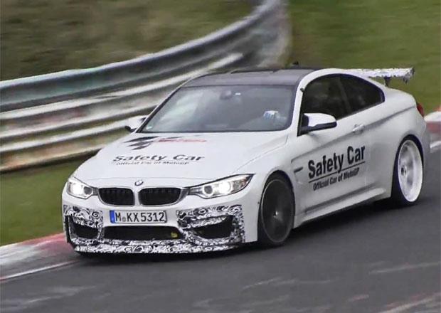 Video: Ostřejší varianta BMW M4 zvaná GTS se již testuje na Nürburgringu
