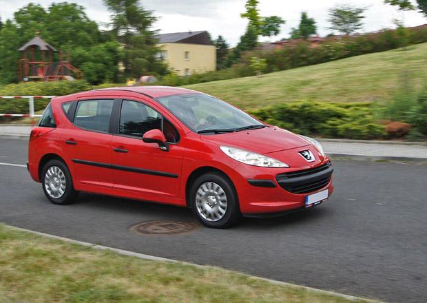 Ojetý Peugeot 207 SW 1.4i: Žádná velká sláva