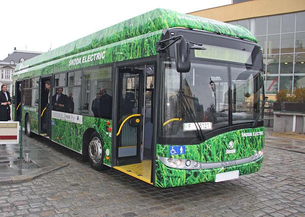 Elektrobus Škoda Perun a jeho technika