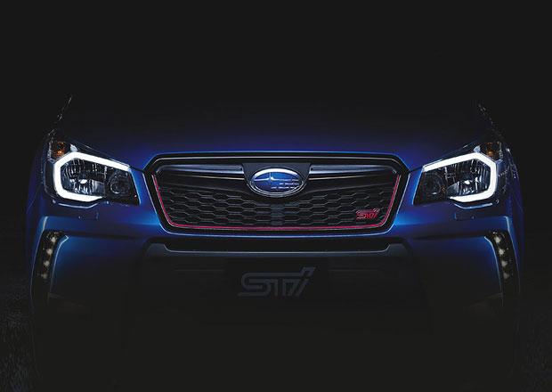 První foto Subaru Forester STI: Oficiálně již 25. listopadu