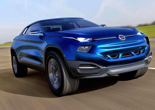 Fiat FCC4: Futuristick� �ty�dve�ov� koncept pro Braz�lii
