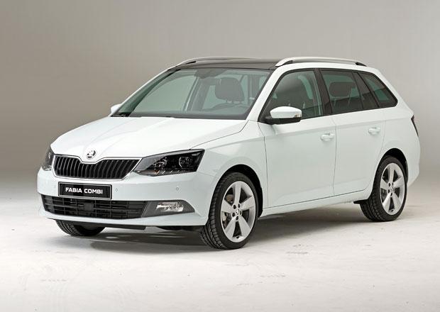 Škoda Fabia Combi stojí 262.900 Kč, je pouze o 10.000 Kč dražší než hatchback!