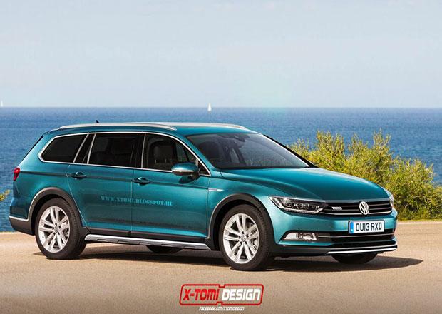 Volkswagen Passat Alltrack pohledem X-Tomi Design