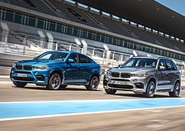BMW X5 M a X6 M 2015 maj� 575 kon� a 750 N.m