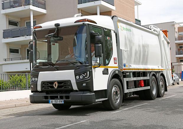 Renault Trucks pro veletrh Pollutec