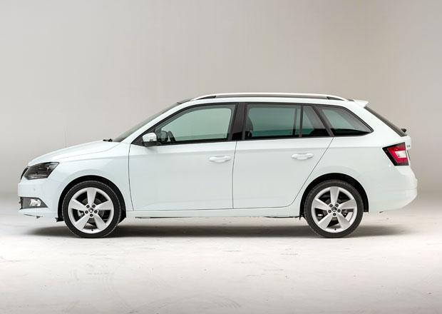 Škoda Fabia III Combi: Nejvýkonnější verze stojí 306.900 Kč