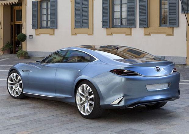 Mazda 6 by se měla představit i jako dvoudveřové kupé