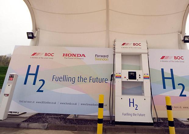 Honda otevřela v Evropě první vodíkovou čerpací stanici