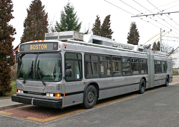 Škoda Electric modernizuje trolejbusy v USA