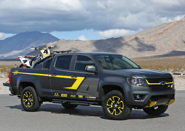 Chevrolet p�edstavil koncept Colorado Performance
