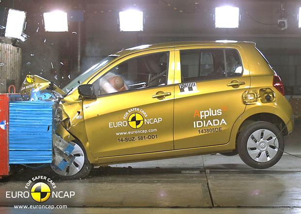 Nové testy Euro NCAP: Suzuki Celerio získalo jenom tři hvězdy