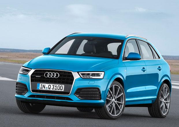 Audi Q3 2015: Vzhledové retuše, Euro 6 a vyšší výkon pro RS