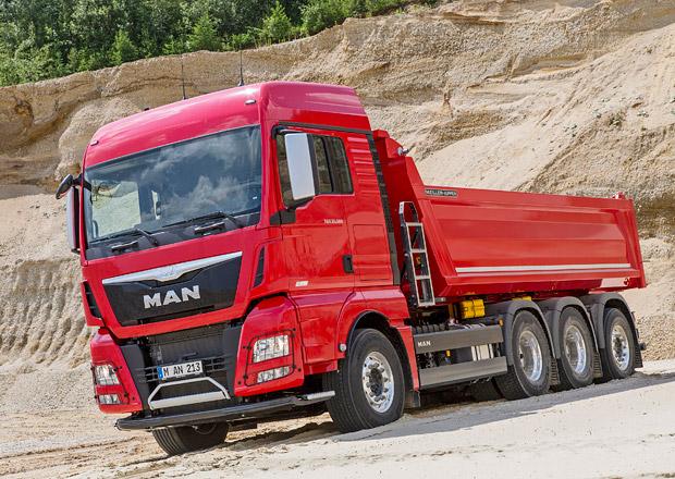 MAN je nejspolehlivější nad 7,5 tuny podle TÜV Report